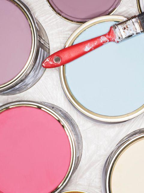 Pink, Magenta, Paint, Purple, Cosmetics, Circle, Violet, Lavender, Eye shadow, Silver,