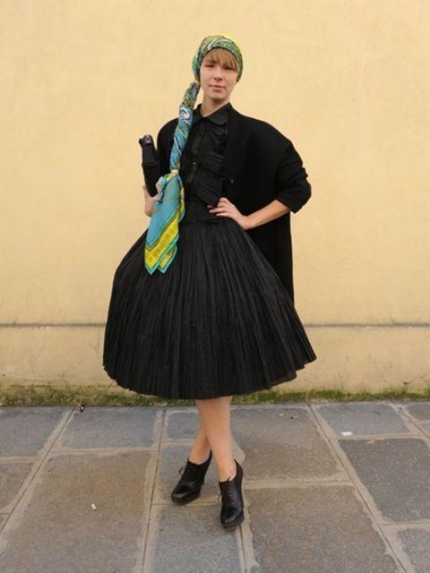 Sleeve, Style, Dress, Fashion accessory, Costume accessory, Headgear, Fashion, Street fashion, Costume, Day dress,