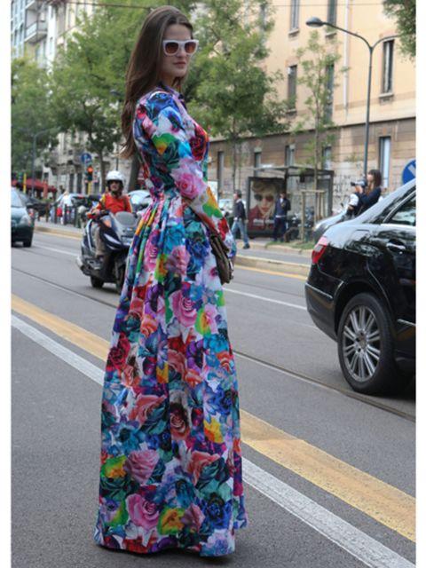 Clothing, Textile, Dress, Sunglasses, Street, Style, Goggles, Street fashion, Bag, Pattern,