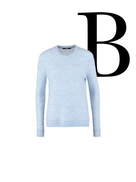 Product, Sleeve, Textile, Pattern, Electric blue, Grey, Sweater, Active shirt, Pattern,