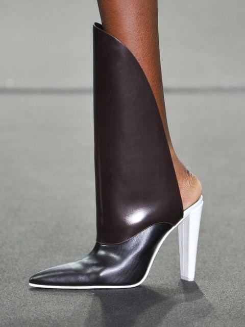 Footwear, Brown, High heels, Tan, Fashion, Leather, Grey, Beige, Material property, Basic pump,