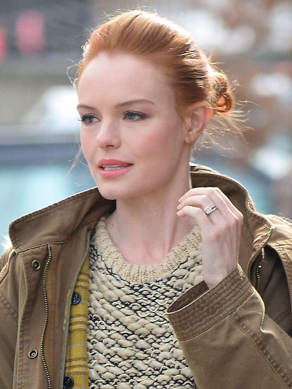 Kate Bosworth Heeft Heur Haar Rood Geverfd