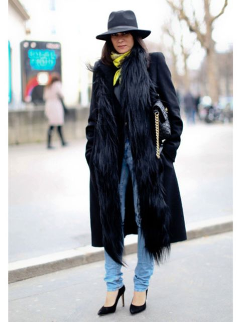 Clothing, Hat, Winter, Textile, Outerwear, Style, Street fashion, Headgear, Fashion accessory, Jacket,