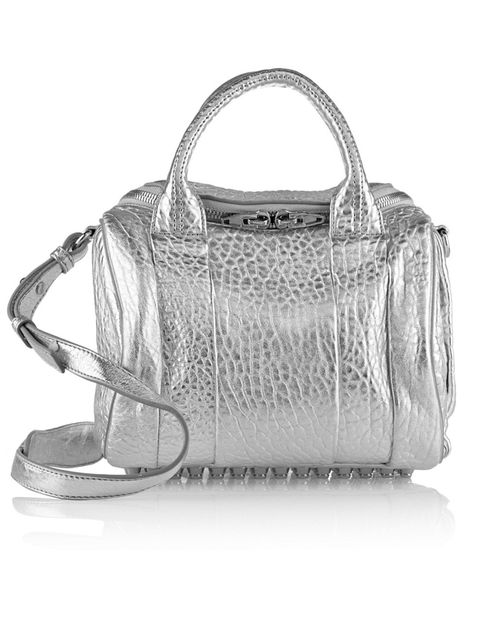 Product, Bag, White, Style, Luggage and bags, Fashion accessory, Shoulder bag, Grey, Handbag, Black-and-white,