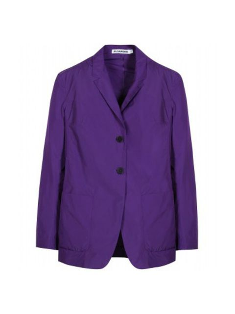 Clothing, Blue, Product, Sleeve, Collar, Violet, Purple, Coat, Textile, Outerwear,