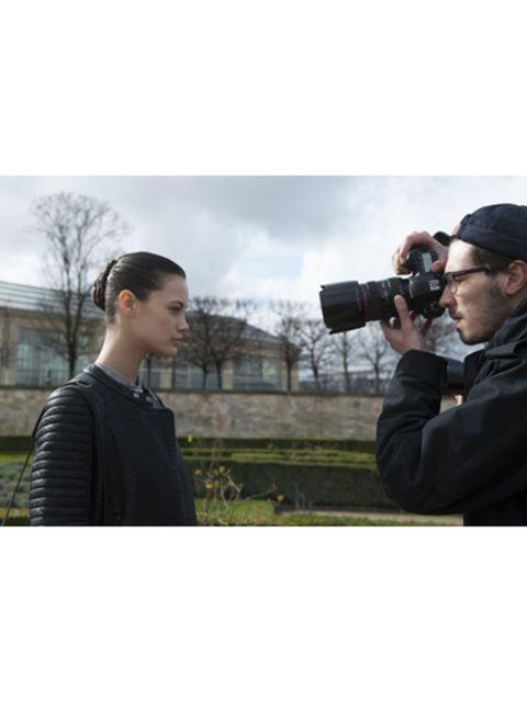 Photographer, Lens, Digital SLR, Digital camera, Single-lens reflex camera, Camera, Photograph, Camera accessory, Camera lens, Cap,