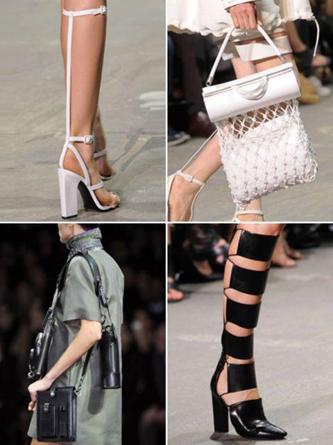 Brown, Product, Human leg, Textile, Joint, White, Pattern, Style, Street fashion, Bag,