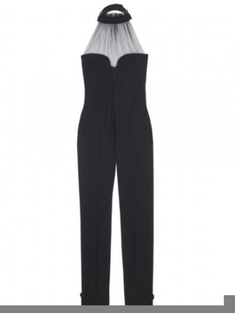 Shoulder, Standing, Style, Black, Waist, Costume design, Fashion design, Costume accessory, Fashion illustration,