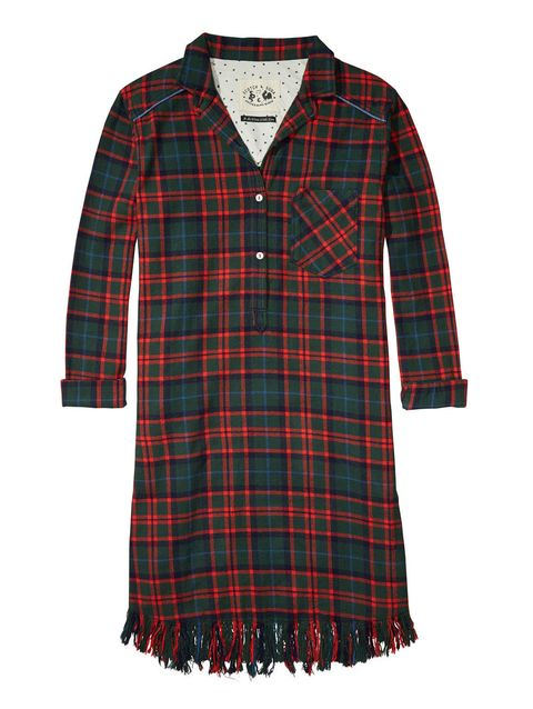 Clothing, Plaid, Product, Collar, Pattern, Sleeve, Tartan, Green, Textile, Red,