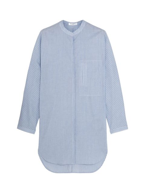 Blue, Product, Collar, Sleeve, Textile, White, Pattern, Electric blue, Fashion, Grey,