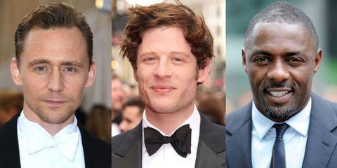Acteurs in de race voor de rol van James Bond