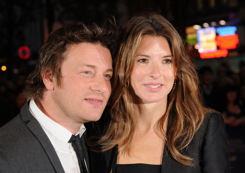 Jamie Oliver En Vrouw Jools Geven Hun Nieuwe Baby