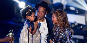Beyoncé, Jay Z & Blue Ivy bij de MTV VMA's in 2014