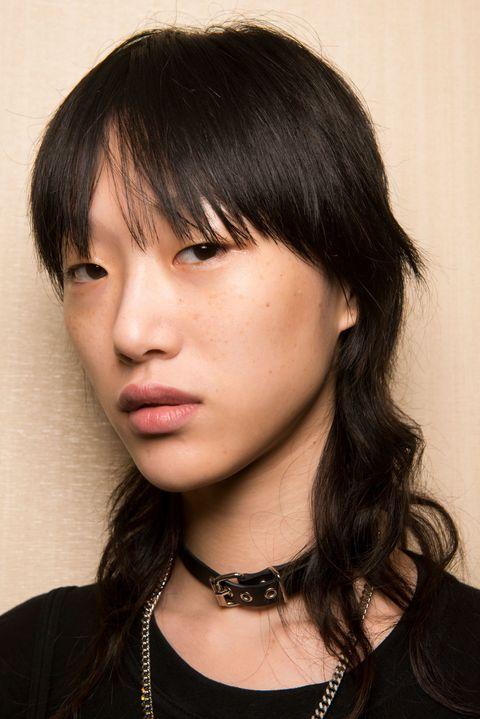 Nose, Lip, Mouth, Cheek, Hairstyle, Skin, Chin, Forehead, Eyebrow, Bangs,