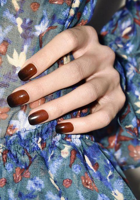 Blue, Finger, Nail, Hand, Nail polish, Nail care, Manicure, Style, Majorelle blue, Electric blue,