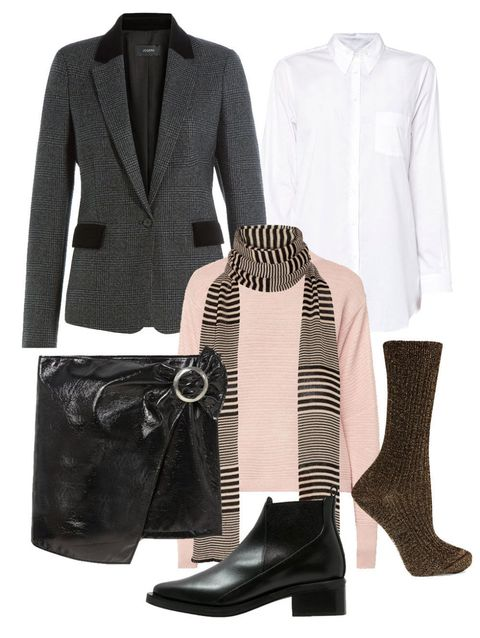 Product, Brown, Sleeve, Textile, Collar, Outerwear, Pattern, Style, Coat, Boot,