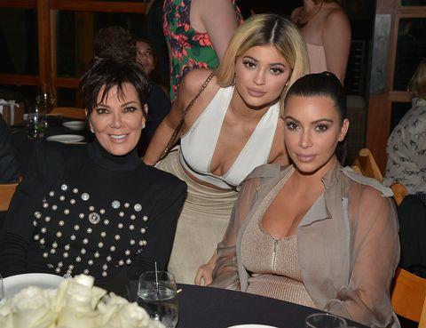 Kris Jenner, Kylie Jenner & Kim Kardashian