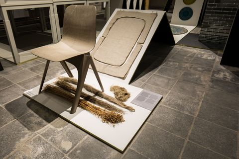 FLAX Chair van Christien Meindertsma grote winnaar Dutch Design Awards 2016