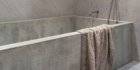 Badkamer inspiratie: beton