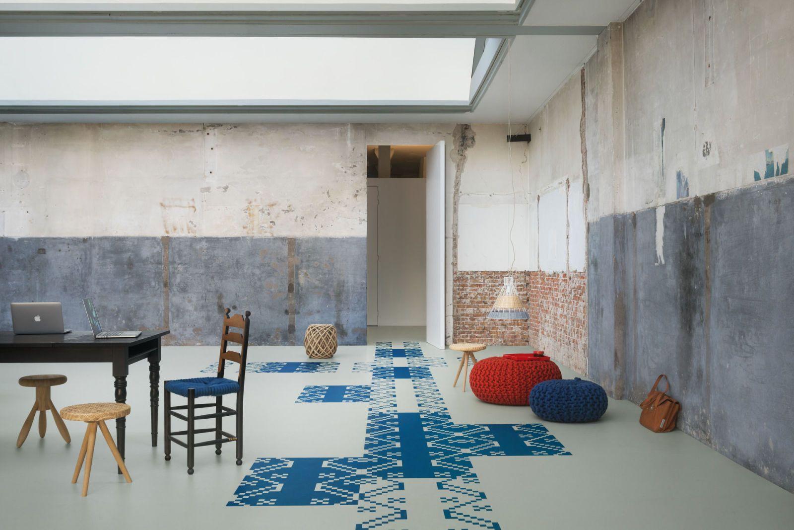 Forbo fooring lanceert een designcollectie decoratieve vloeren