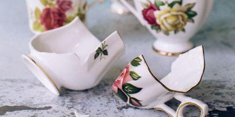 Cup, Teacup, Porcelain, Tableware, Drinkware, Coffee cup, Serveware, Cup, Wedding favors, Plant,