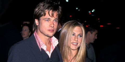Brad Pitt & Jennifer Aniston in 1999