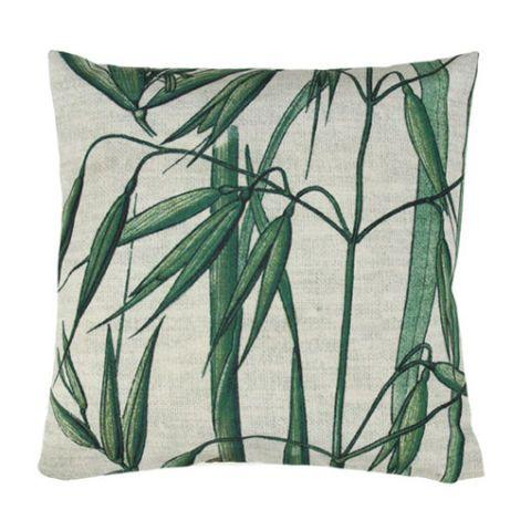 Green, Throw pillow, Cushion, Pillow, Leaf, Furniture, Aqua, Teal, Botany, Branch,