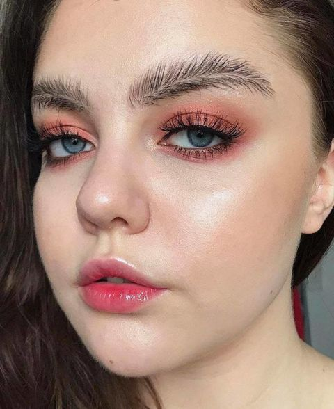 Face, Eyebrow, Hair, Lip, Eyelash, Cheek, Nose, Skin, Eye, Eye shadow,