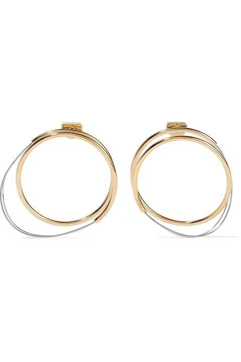 Jewellery, Earrings, Fashion accessory, Body jewelry, Circle, Metal, Oval,
