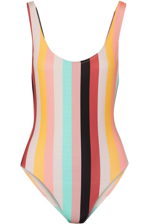 Clothing, One-piece swimsuit, Swimwear, Orange, Leotard, Monokini, Swim brief, Maillot, Swimsuit bottom, Undergarment,
