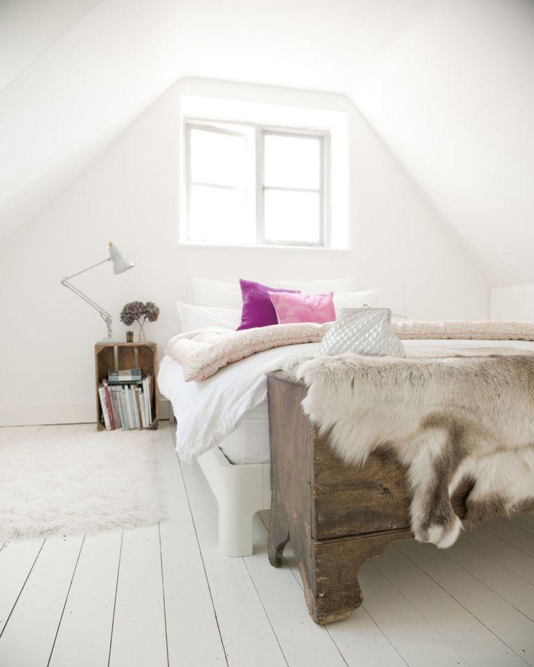 6 tips voor een slaapkamer niet veel groter dan je bed