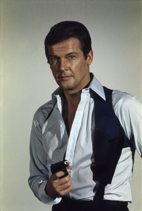 British actor Roger Moore as James Bond from the movie Live and Let Die. (Photo by Terry O'Neill/Getty Images)