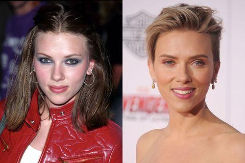 <p>Wij zijn fan van Scarletts kortgeschoren, blonde coupe, maar van nature heeft de Amerikaanse actrice eigenlijk bruin haar.&nbsp;</p>