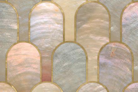 Yellow, Pattern, Circle, Tile, Arch,