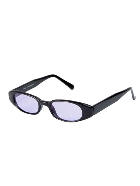 Eyewear, Sunglasses, Glasses, Personal protective equipment, Vision care, Violet, Purple, Transparent material, Goggles, Line,
