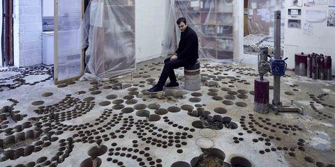 Kunstenaar Paul Cocksedge sloopte studio om er kunst van te maken