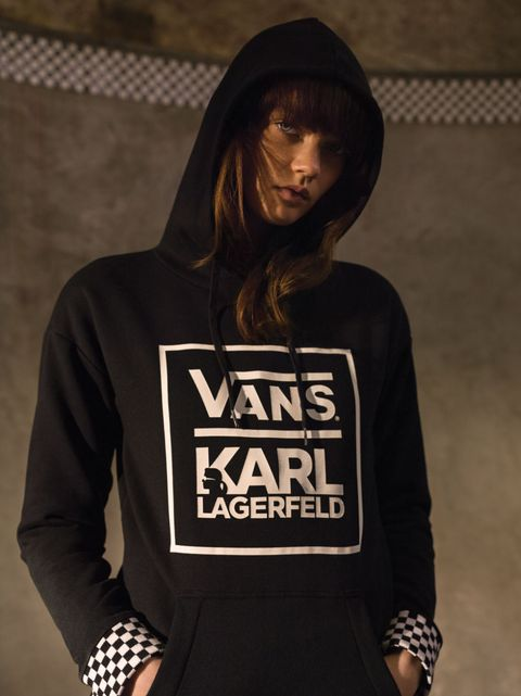 The Karl Lagerfeld x Vans Collection