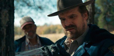 Movie, Screenshot, Gunfighter, Human, Facial hair, Headgear, Photography, Beard, Soldier,