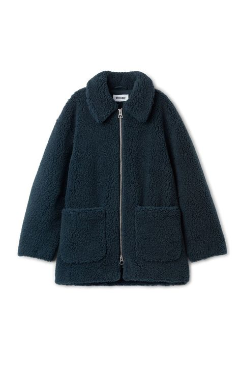 Clothing, Outerwear, Sleeve, Jacket, Collar, Coat, Wool, Woolen, Polar fleece, Hood,