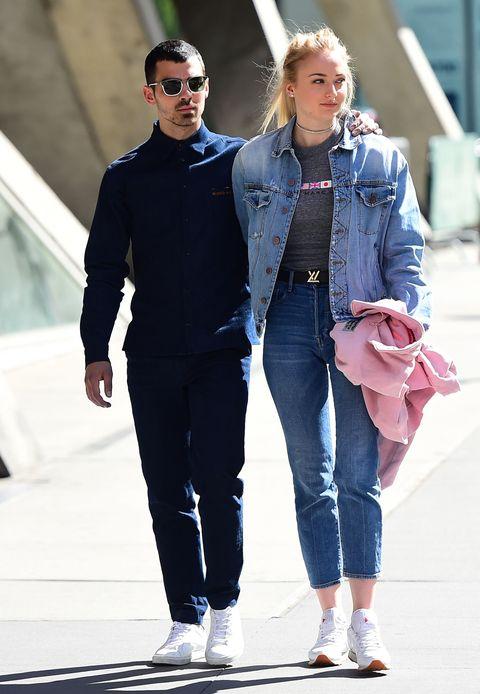 Jeans, Denim, Street fashion, Clothing, Fashion, Eyewear, Sunglasses, Footwear, Textile, Jacket,