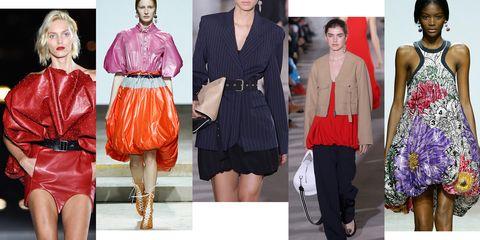 Clothing, Fashion model, Fashion, Red, Orange, Fashion design, Pink, Outerwear, Street fashion, Dress,