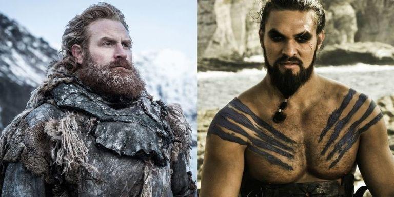 Game of Thrones' Tormund en Khal Drogo ontmoetten elkaar ...