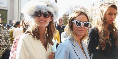 Eyewear, Street fashion, Fashion, Fur, Sunglasses, Blond, Fur clothing, Event, Glasses, Fun,