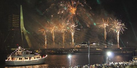 Fireworks, New Years Day, New year, Event, Midnight, Holiday, Night, New year's eve, Sky, Fête,