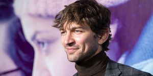 Michiel Huisman bij de Irreplaceable You-screening in New York