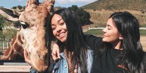 Kylie Jenner en Jordyn Woods