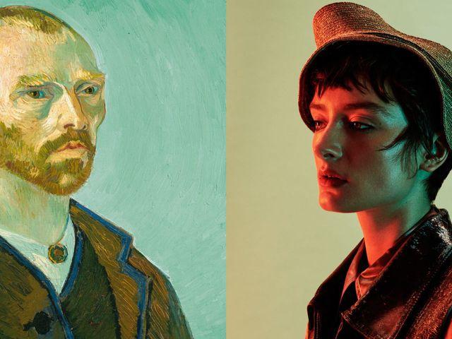 e5d75bf23748cf VERY VAN GOGH  ELLE schoot een bijzondere modeserie ín het Van Gogh ...