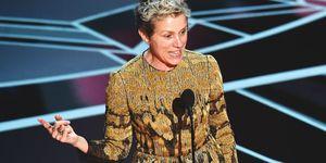 Oscars 2018: Frances McDormands speech