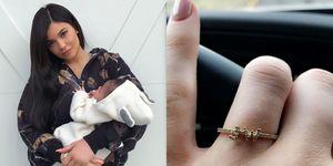 Kylie Jenner verklapt boodschap achter vermeende verlovingsring
