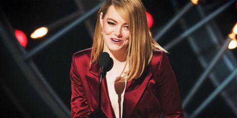 Emma Stone Oscars 2018